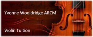 Yvonne Roberts/Wooldridge Violin Teacher North London Barnet EN5 3JJ